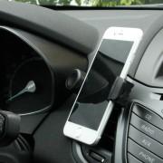 Mini smartphone holder 360 til bilens luftkanal Mobiltelefon tilbehør