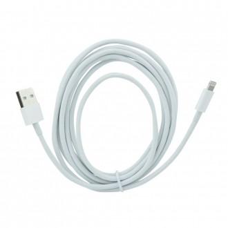 2 meter Lightning kabel hvid Mobiltelefon tilbehør