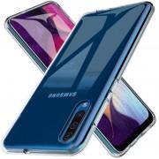 grå transparent Blød tpu cover Samsung A50 Mobil tilbehør