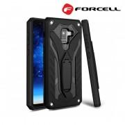 Forcell Phantom case Samsung A8 (2018) sort Mobil tilbehør
