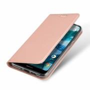 rosaguld Slim etui Nokia 7.1 Mobil tilbehør