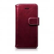Iphone SE klassisk flip cover rød Mobil tilbehør