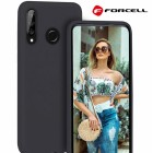 sort Forcell soft silikone cover Huawei P30 Lite Mobil tilbehør