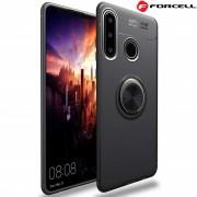 Forcell ring case Huawei P30 Lite sort Mobil tilbehør