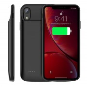 Viser Batteri cover 4000mAH Iphone XS Max sort