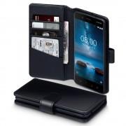 Nokia 8 sort læder etui Mobil tilbehør