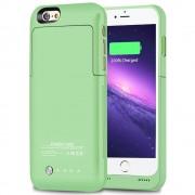 IPHONE 6 / 6S batteri cover grøn Mobiltelefon tilbehør