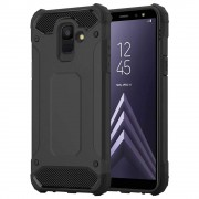Forcell armor cover sort Galaxy A6 (2018) Mobil tilbehør