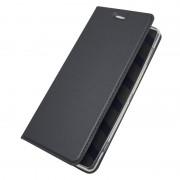 Oneplus 5T slim flipcover grå Mobilcovers