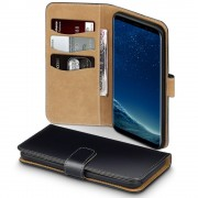 Samsung Galaxy S8 plus flip cover med lommer Mobilcover