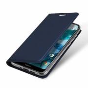 blå Slim etui Nokia 7.1 Mobil tilbehør