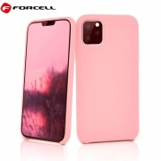 pink Iphone 11 Pro Max Forcell silikone cover Mobil tilbehør