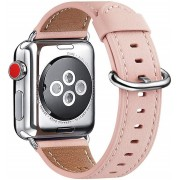 APPLE WATCH 38 MM urrem af Italiensk læder, pink