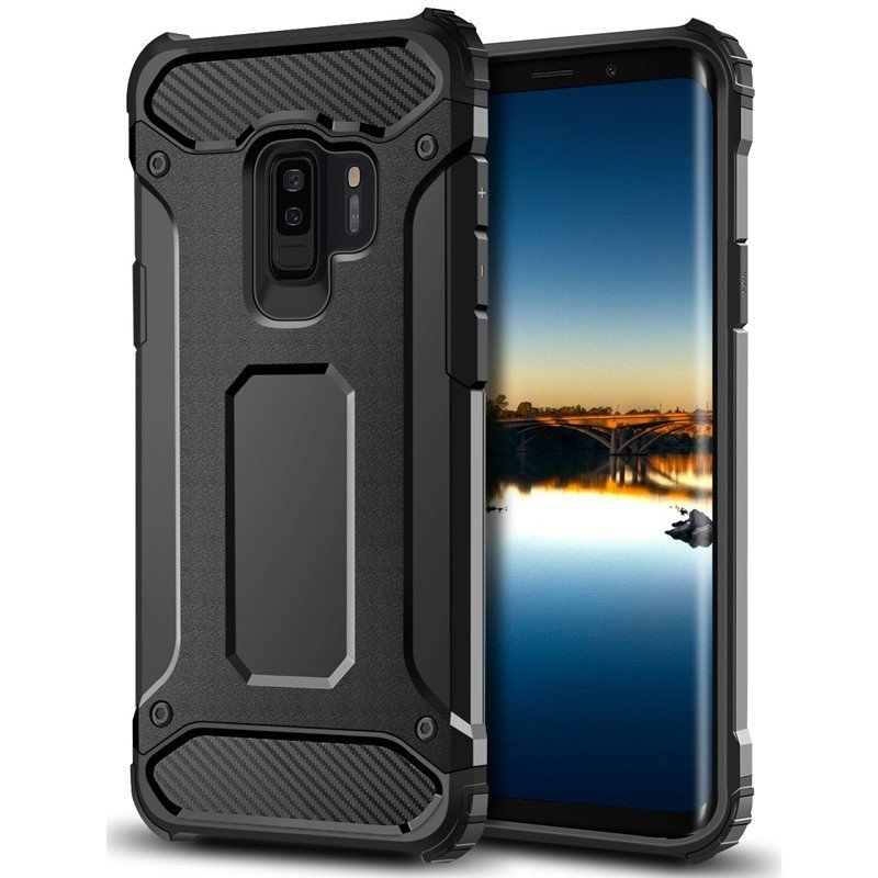 3131d2cdef4 Galaxy S9+ Forcell Armor case sort Mobil tilbehør ...