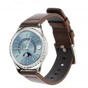 Vintage læder urrem brun Gear S2 classic Smartwatch tilbehør