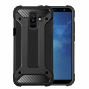 Forcell armor cover sort Galaxy A6 plus (2018)  Mobil tilbehør