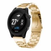 Luksus rem rustfri stål guld Garmin Fenix 5 Smartwatch tilbehør