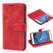 Flip cover Samsung J5 (2016) rød Mobil tilbehør
