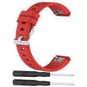 Garmin Fenix 5 silikone rem rød Smartwatch tilbehør
