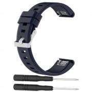 Garmin Fenix 5 silikone rem blå Smartwatch tilbehør