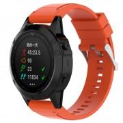 Silikone rem orange Garmin Fenix 5X Smartwatch tilbehør
