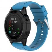 Silikone rem lyseblå Garmin Fenix 5X Smartwatch tilbehør