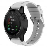 Silikone rem hvid Garmin Fenix 5X Smartwatch tilbehør