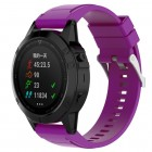 Silikone rem lilla Garmin Fenix 5X Smartwatch tilbehør