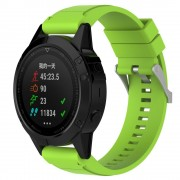 Silikone rem grøn Garmin Fenix 5X Smartwatch tilbehør