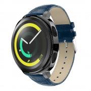 Læder rem blå Samsung gear sport Smartwatch urremme