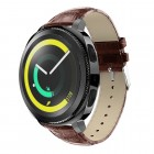 Læder rem brun Samsung gear sport Smartwatch urremme