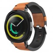 S-style læder rem brun Samsung gear sport Smartwatch tilbehør