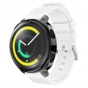 Blød siliconerem hvid Samsung gear sport Smartwatch tilbehør