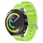 Blød siliconerem grøn Samsung gear sport Smartwatch tilbehør