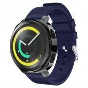 Blød siliconerem blå Samsung gear sport Smartwatch tilbehør