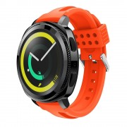 Siliconerem D-line orange Samsung gear sport Smartwatch tilbehør