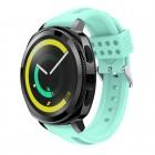 Siliconerem D-line cyan Samsung gear sport Smartwatch tilbehør