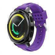 Siliconerem D-line lilla Samsung gear sport Smartwatch tilbehør