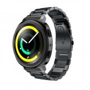Klassisk rustfri stål rem Samsung gear sport Smartwatch tilbehør