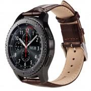 Samsung Gear S3 brun læder rem croco Smartwatch tilbehør