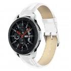 Galaxy Watch 46mm hvid læder rem croco Smartwatch tilbehør