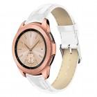 Galaxy Watch 42mm hvid læder rem croco Smartwatch tilbehør