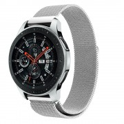 Milanese urrem Galaxy Watch 46mm sølv Smartwatch tilbehør