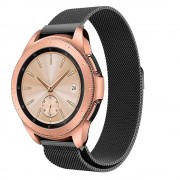 Galaxy Watch 42mm sort Milanese urrem Smartwatch tilbehør