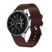 Viser Samsung Watch 46mm blød læder rem brun