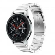 Klassisk rustfri stål lænke Samsung Watch 46mm sølv Smartwatch tilbehør