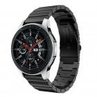Galaxy Watch 46mm premium stål lænke sort Smartwatch tilbehør