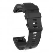 Quick release silikonerem Garmin Fenix 3 sort Smartwatch tilbehør