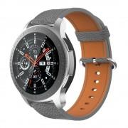grå Blød læder rem Samsung Watch 46mm Smartwatch tilbehør