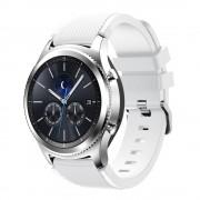 Samsung Gear 3 Sports silikonerem hvid Smartwatch tilbehør Leveso.dk